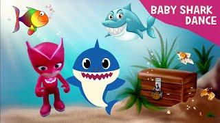 Baby Shark Dance - PJ Masks Owlette - Baby Shark Challenge