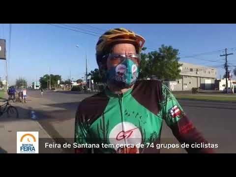 Feira de Santana tem cerca de 74 grupos de ciclistas