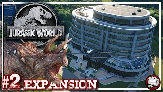 Jurassic World Evolution | Expansion | Jurassic World Gameplay | EP2