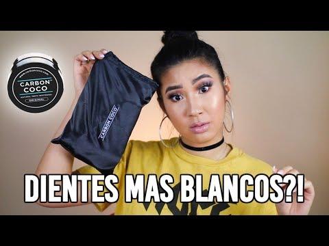 Dientes MAS BLANCOS en minutos?! Funciona?! | Carbon Coco