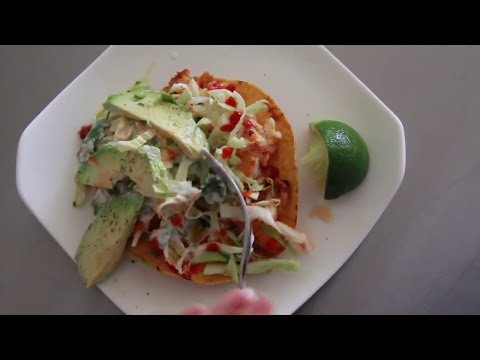 Spicy Fish Tostadas: Season1ep.4 chef julie yoon