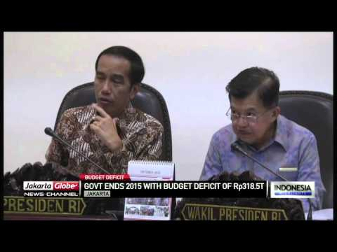 Indonesia Sees Budget Deficit of 2.8% of GDP in 2015