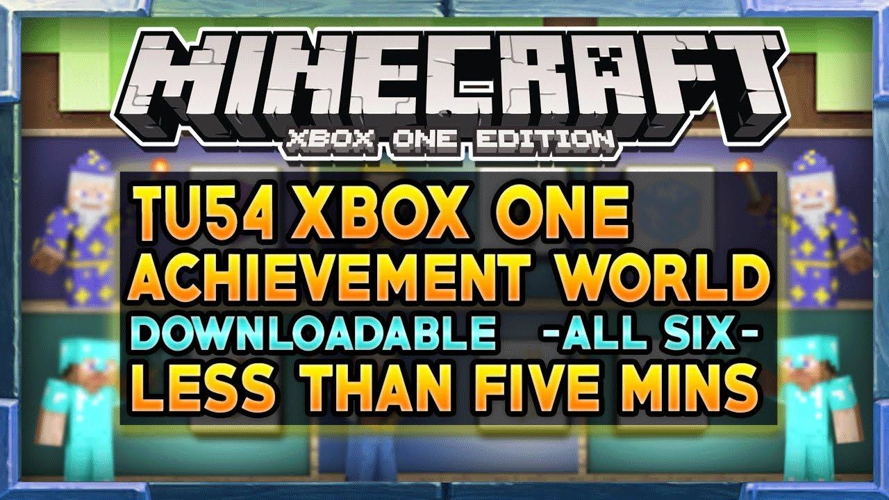 Minecraft Achievements Tu54 Update All Achievements
