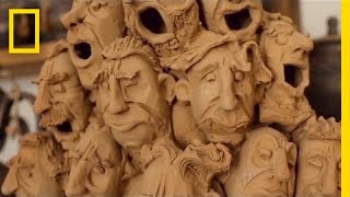 Behind These Amazing Clay Figures, a Soulful Artist