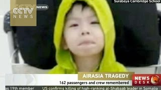 162 AirAsia passengers and crew remembered