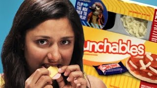'90s Kids Try Lunchables As Adults