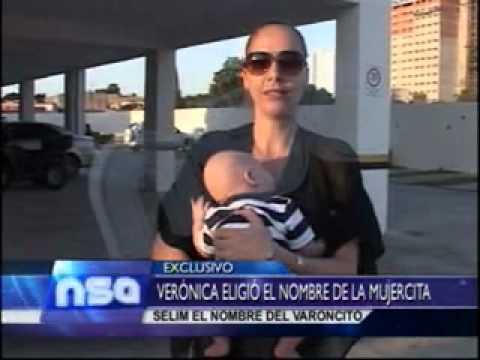 VERONICA LARRIEU PRESENTA A SUS GEMELOS     28 07 2012 @NO SOMOS ANGELES 1