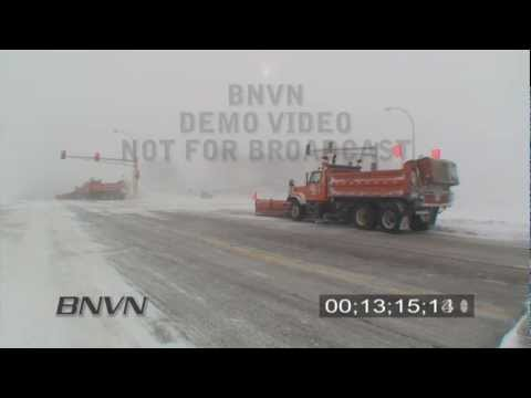 1/25/2010 Southwest, MN Blizzard Video - Part 2