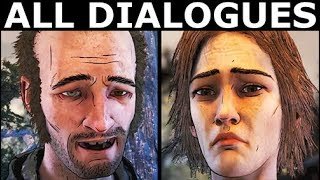 Clementine Encounters Lilly & Abel - All Dialogues - The Walking Dead Final Season 4 Episode 2