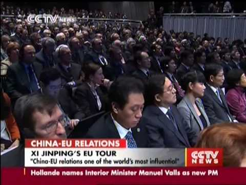 President Xi Jinping speaks at College of Europe