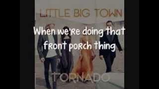 Watch Little Big Town Front Porch Thing video