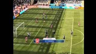 Newcastle 4-4 Arsenal | FIFA 12 Remake