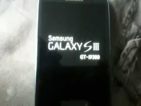 Samsung Galaxy S3 SIII will not boot up stuck on start up