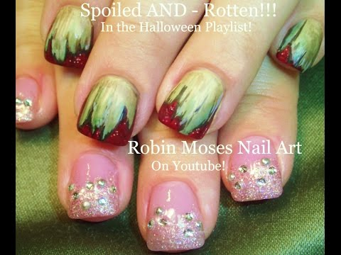 2 NAIL ART Tutorials | DIY Easy Halloween Nails | Spoiled AND Rotten
