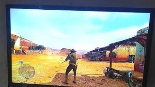 Red Dead Redemption Xbox 360 Live Gameplay In Hindi