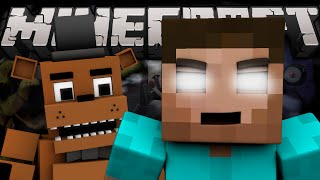 If HEROBRINE and FREDDY FAZBEAR were Brothers (Minecraft Machinima)