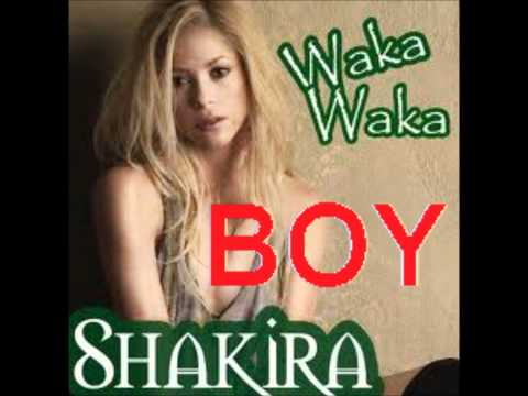 Shakira - Waka Waka (boy) video