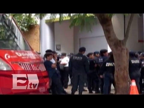 Policías en paro toman instalaciones del C4 en Oaxaca  / Excélsior Informa