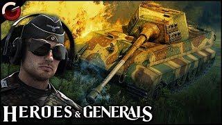 INDESTRUCTIBLE TANK! Epic Königstiger Battle | Heroes & Generals Gameplay