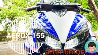Yamaha Aerox 155 (2017) What I Learned After 6 Months. Issues, Problems, Solutions