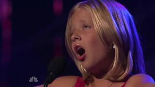 Jackie Evancho first audition Americas Got Talent full with result and comments.wmv