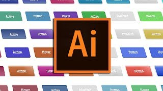 Create Rollover and Hover Buttons with Illustrator | AI Plugin