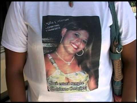 Mãe de Millan Cristtian pede ajuda para esclarecer caso da filha assassinada