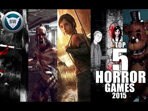TOP 5 ANDROID/iOS/PS3/XBOX360/PS4/XBOXONE/PC HORROR GAMES 2015 HD