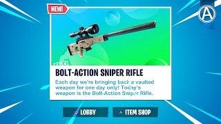 Bolt Action Sniper Rifle UNVAULTED // 2300+ Wins // Use Code: byArteer (Fortnite Battle Royale LIVE)
