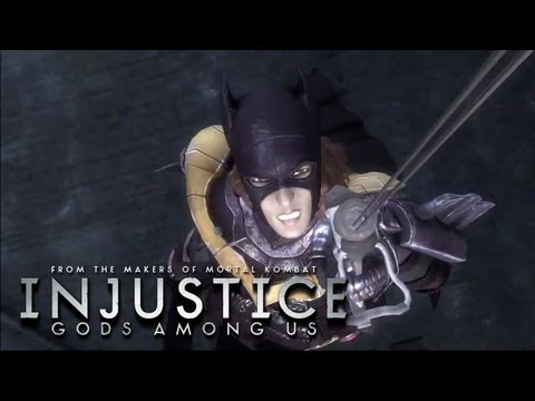 Injustice: Gods Among Us - 'History of Batgirl' TRUE-HD QUALITY