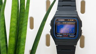 Casio F-91W Screen Modification You Can Do Yourself