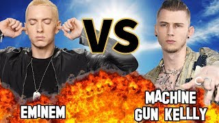 EMINEM VS. MACHINE GUN KELLY | Versus | Before They Were Famous