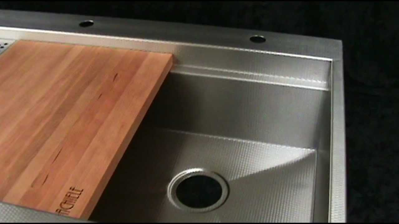 Top Mount Copper And Stainless Apron Front Sinks Rachiele Youtube