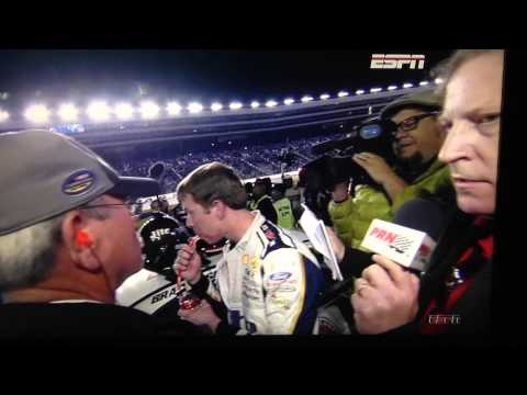 NASCAR fight at Texas Jeff Gordon and Brad Keslowski 11/2/14