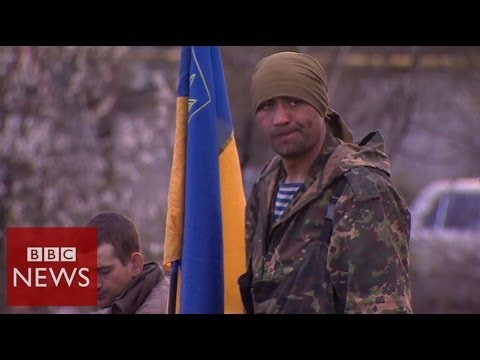 "BBC witnesses ""surrender"" in Sloviansk - BBC News"