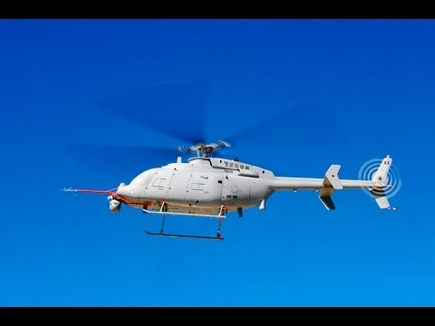 Northrop Grumman - MQ-8C Fire Scout Unmanned Helicopter First Flight [1080p]