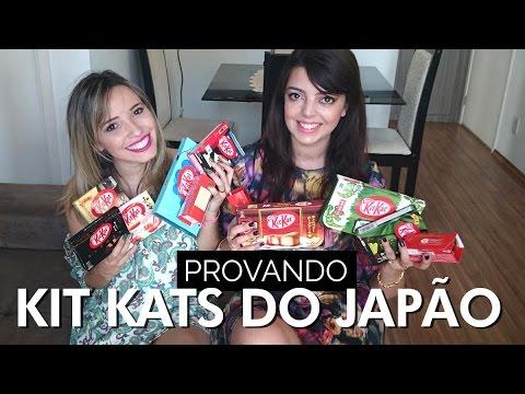 Sabores diferentes de Kit Kat do Japão | Taciele Alcolea e...