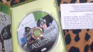 Assassın,s creed 4 black flag kutu açılımı