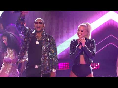 Flo Rida -  Wild Ones ft. Macy Kate [Dick Clark's New Year's Rockin' Eve 2017]