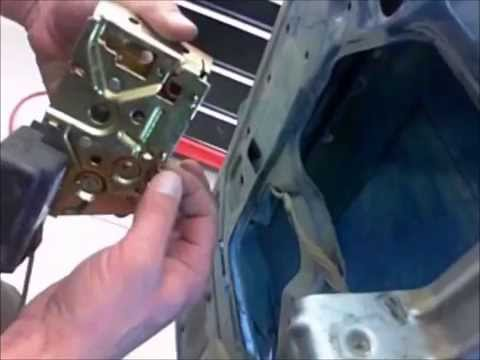 Ford F-150 - F-350 driver door cable repair