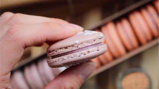 BubbleTea Taro Macaron (Dessert Collab with One Kitchen)