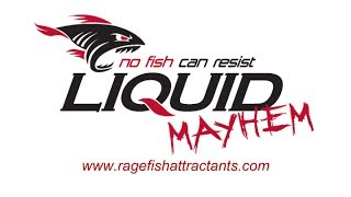 [Liquid Mayhem Fish Attractant - The best bait for bass, wall...] Video