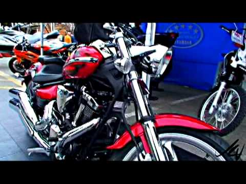 YAMAHA RAIDER S-MODEL MOTORCYCLE Video
