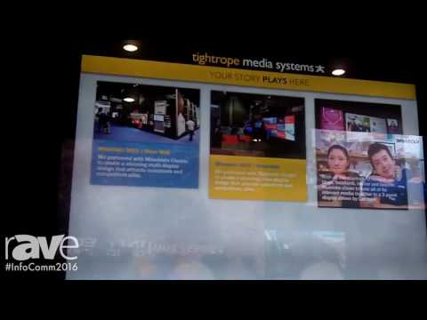 InfoComm 2016: Tightrope Media System Highlights Interactive Project Ideas