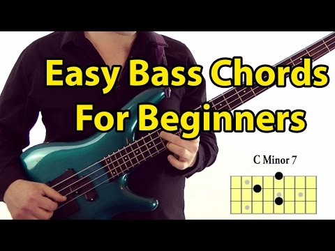Easy Bass Guitar Chords For Beginners (l#87) video