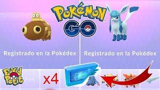 REGISTRO DE GLACEON SHINY! ¿QUE TAN BUENO ES EL MÓDULO GLACIAL? [Pokémon GO-davidpetit]