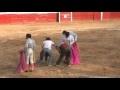 corrida de toros huamachuco 2010   anthony de peru