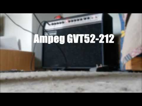 Ampeg GVT52-212 Quick Demo (Crunch)