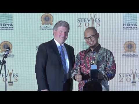 PT Telekomunikasi Indonesia wins a Grand Stevie Award at the 2015  Asia Pacific Stevie Awards.