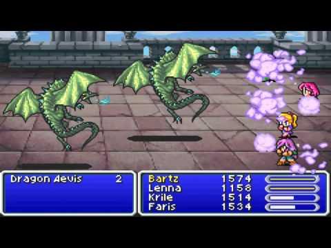 Final Fantasy V - Part 42 - Interdimensional Rift Round 2
